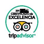 TripAdvisor: Certificado de Excelencia