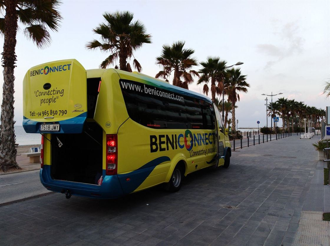 Express Connect shuttle transfer from Alicante Airport